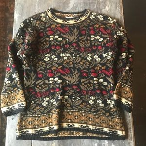 Vintage reversible sweater